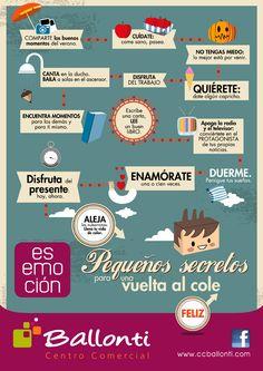 Campaña de vuelta al cole para e centro comercial Ballonti. Septiembre de 2012. Prensa, radio, redes, web, prensa digital, soportes del centro...