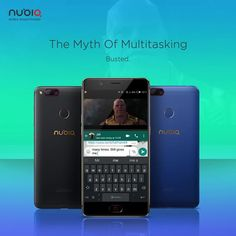 Quien quiera que haya dicho que solo puedes usar una aplicación a la vez, es porque no conoce la función de la pantalla dividida de Nubia! 😎 #MultiTask #nubia #SerTuMismo