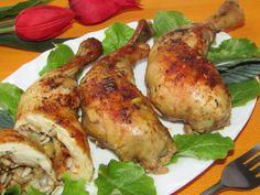 Tradycyjna kuchnia Kasi: Udka z kurczaka faszerowane porem i słonecznikiem