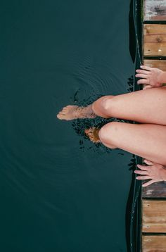 Nothing better than dipping your toes in water.