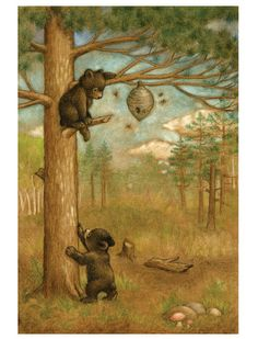 :: Sweet Illustrated Storytime :: Illustration by Rose Mary Berlin :: Baby Bears