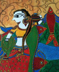 fish madhubani paintings - Google Search