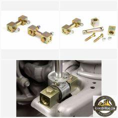 JKS 9605 Front Upper Shock Mount Adapter Kit for Jeep TJ//XJ//MJ//ZJ//WJ//JK