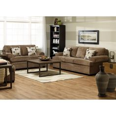"""Your living room is a space to relax and feel comfortable. This contemporary collection was designed just for that! Perfect for cozying up on, it features a no-sag spring system, dacron wrapped 1.9lb seat foam and the sofa measures a spacious 92"""" long."""""""