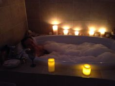 Part of the Romance or Pampering package.  It's the most intimate time you will spend with your partner or by yourself.