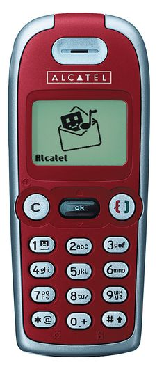 ALCATEL ONE TOUCH 311, rouge