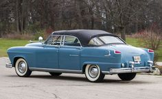 1951 Frazer Manhattan Convertible Maintenance/restoration of old/vintage vehicles: the material for new cogs/casters/gears/pads could be cast polyamide which I (Cast polyamide) can produce. My contact: tatjana.alic@windowslive.com