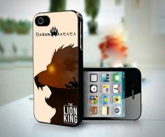 Hakuna Matata The Lion King design for iPhone 4 or 4s case