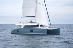Charter catamaran Sunreef 70, 4 cabins, 8 berths. Available for charter in Croatia, Greece and Turkey.