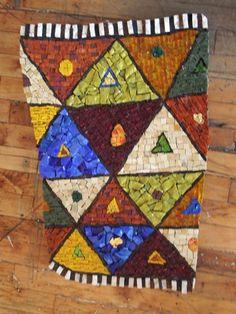 Smashing Smalti mosaic blanket