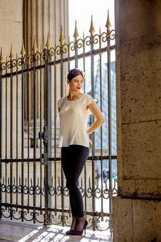 Top Sissi - Sophie Rive Droite Marque de prêt à porter en édition limitée et 100% Made in France. Collection et mode féminine.