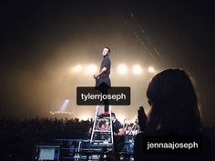 Tyler Joseph and Jenna Joseph