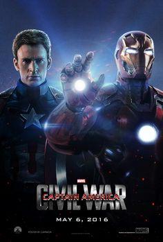 Captain America: Civil War - (2016) Poster by CAMW1N.deviantart.com on @DeviantArt