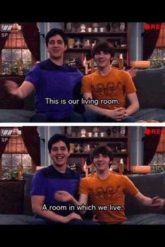 Drake and Josh is the coolest thing since sliced bread