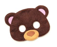 This is a super cute felt kids mask. These are great for Halloween, costume parties, everyday dress up and they make wonderful party favors as well. Children have so much fun with our masks letting their imaginations run wild. Every kid loves pretend play and now you can help your child have a vivid imagination with our handmade masks. Masks are approximately 7 1/4 x 5 inches depending on the style. Each mask is make using wool blend felt. They are machine stitched and cut by hand. All masks…