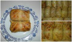 Recept Zelné závitky (holubky) Baked Potato, Turkey, Cooking Recipes, Potatoes, Meat, Chicken, Baking, Vegetables, Ethnic Recipes