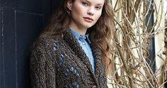 Lace jacket - pattern is in my knitting folder w/o picture