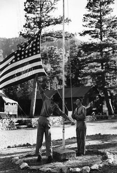 1936 Civilian Conservation Corps in Oregon.