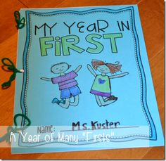 End of the Year Memory Book (Kindergarten, First Grade, and Second Grade versions)