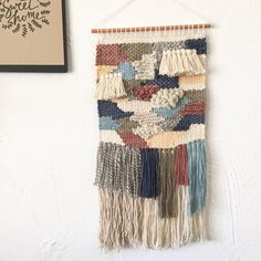Woven wall hanging by willowandpineshop on Etsy