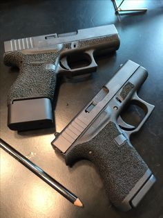 Stippled Glock 42 and 43 Find our speedloader now! www.raeind.com or http://www.amazon.com/shops/raeind