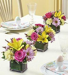 Dining Table Flower Arrangement