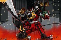 Power Rangers Megazord, Power Rangers Art, Ranger Armor, Drawing Poses, Hero Arts, Kamen Rider, Godzilla, Gundam, Anime
