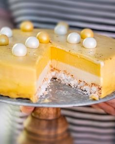 Cake Recipes, Dessert Recipes, Desserts, Mango Mousse, Foods With Gluten, Baked Goods, Panna Cotta, Cheesecake, Cooking Recipes