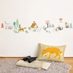 Mimi Lou Forest wallsticker - All the Luck in the World #wallsticker #decal