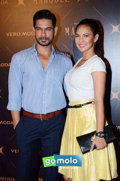 Keith Sequeira & Rochelle Rao at the Launch of Kangana Ranaut's collection 'Vero Moda Marquee' in Mumbai