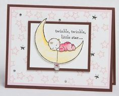 Stampin Up - Moon Baby - Video Tutorial - Post By Demonstrator Brandy Cox