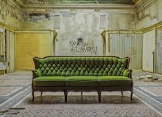 Looking for Unique Furniture? 4 Places to Look You Haven't Thought of Before - Beauty and the Mist Canapé Design, Interior Design, Chateau D Ax, Sick Building Syndrome, May House, Mold Exposure, Old Abandoned Buildings, Imagination Art, Sofa