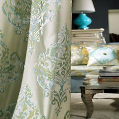 (Two Panels) Michelle Luxury® Room Darkenning Elegant Royal Vintage Curtain. Grab substantial discounts up to Off at Light in the box using Coupons. Luxury Curtains, Cheap Curtains, Drapes Curtains, Botanical Bedroom, European Bedroom, Small Sitting Rooms, Wall Candy, Vintage Curtains, Polyester Material