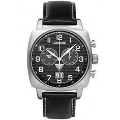 Reloj Junkers 6486-2 Cronógrafo 1st Atlantic Flight Crono Negro « Relojesactuales