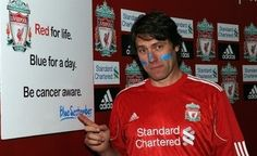 John Bishop, massive LFC fan and all-round great fella. We love him!