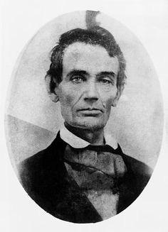 Never seen this young Abraham Lincoln photo, before. His left eye bothers me. American Presidents, Us Presidents, American Civil War, American History, Abraham Lincoln, Lincoln Life, Paul Dirac, Marie Curie, Humanismo Secular