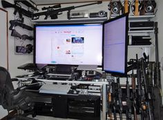 Buy, Repair, or Upgrade your computer / laptop with Mr. Robot Shop, and get free in-home setup! Electronic Scrap, Electronic Circuit, Robot Shop, Best Man Caves, Bug Out Location, Man Cave Homes, How To Defend Yourself, Camping Toilet, Gun Rooms