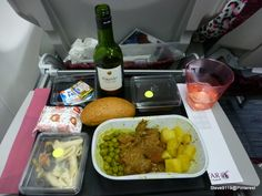 Qatar Airlines meal