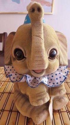Elephant-Coin-Piggy-Bank-Josef-Originals-Collectible-Japan-Big-Eyes-Kawaii-Flock