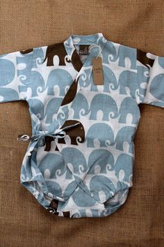 Baby Kimono Wrap, zebi $34