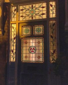 Horrible upvc door removed and replaced by an original victorian exterior view of victorian door and stained glass side and overhead panels to match that we planetlyrics Choice Image