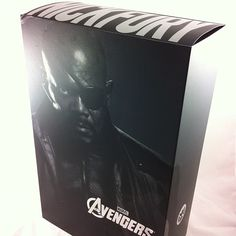 Item: The Avengers: Nick Fury Movie Masterpiece 1:6 scale action figure by Hot Toys