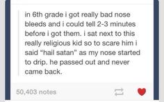 Something I would do tbh
