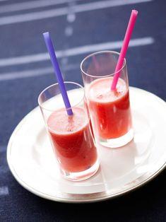 【ELLE a table】すいかのスムージー甘酒レシピ|エル・オンライン