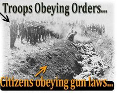 Beelzebub/Obama - Go Back To Hell From Whence You Came Demon ! What happens when Troops obey orders after Citizens obey gun laws. Wake up America PLEASE ! Shall Not Be Infringed, Bill Of Rights, Gun Rights, Gun Control, 2nd Amendment, New World Order, We The People, Troops, Citizen