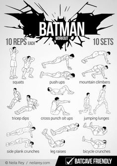 #Batman Workout y funciona!!