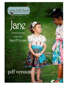 Jane de Violette Field Threads de 2 à 10 ans