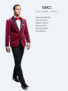 Stylizacja Giacomo Conti: marynarka Valerio 02 S, koszula Mario 001 slim, spodnie Fabio 02 S #giacomoconti