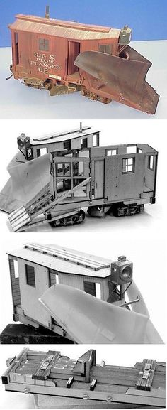 Other Narrow Gauge 9037: On3 On30 Wiseman Model Services Rgs Rio Grande Southern Plow Flanger #02 Kit -> BUY IT NOW ONLY: $149.95 on eBay!
