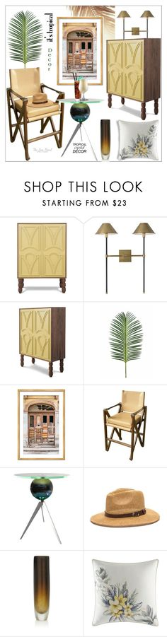 """Havana Days"" by theseapearl ❤ liked on Polyvore featuring interior, interiors, interior design, home, home decor, interior decorating, Richard Wrightman, Van Teal, Arcade and Tommy Bahama"